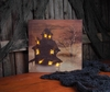 Lighted Halloween Canvas Haunted House