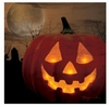 Lighted Halloween Canvas Jack O Lantern