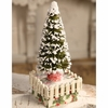 Margaret Haire for Bethany Lowe Oh Christmas Tree Container
