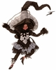 Mark Roberts Little Girl Witch 10.5 Inches Small