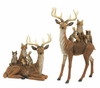 Melrose Deer with Woodland Animal Friends Figure