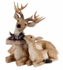Melrose Lying Deer with Fawn 17 inch Figure