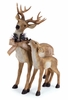 Melrose Standing Deer with Fawn 25 inch Figure