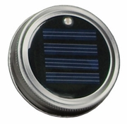 Moonshiner Solar Sun Power Mason Jar Lid