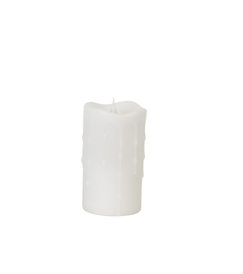 simplux moving flame pillar candle 57735