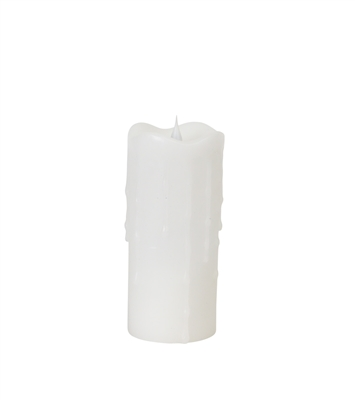 simplux moving flame pillar candle 57737