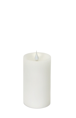 simplux moving flame pillar candle 57476