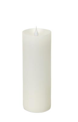 simplux moving flame pillar candle