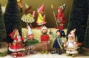 Patience Brewster Dashaway Elf Ornament Set