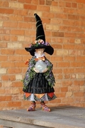 Patience Brewster Fortuna Witch Doll Figure
