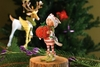 Prancer's Tailor Elf Patience Brewster Dash Away Elf Ornament