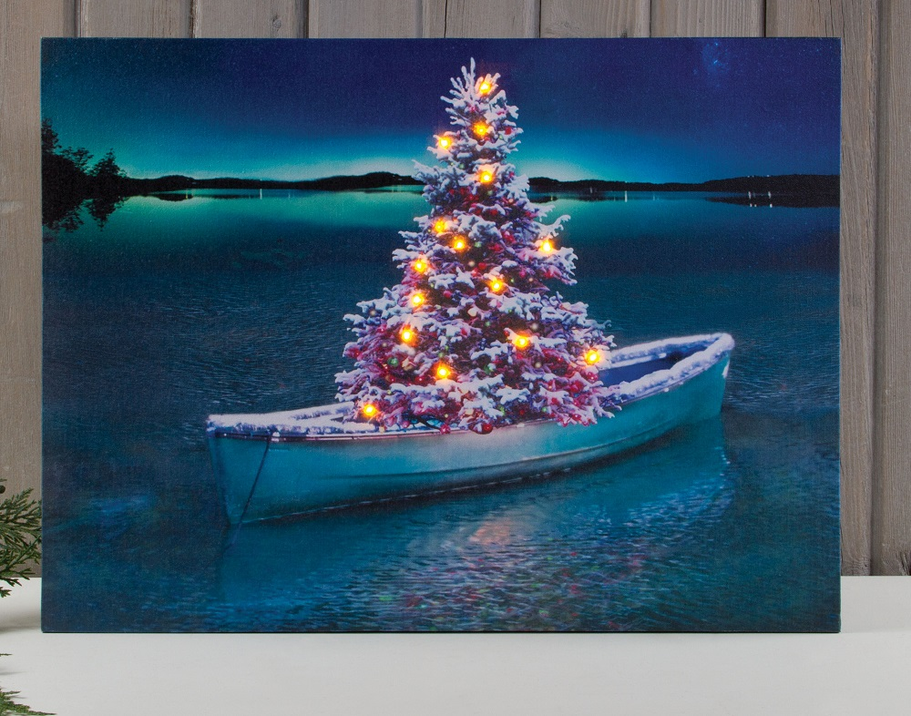 radiance lighted canvas by ohio wholesale - Christmas Tree Wholesale