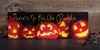 Radiance Light Canvas Halloween Jack O Lantern Pumpkin Kin Canvas
