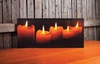 Radiance Light Canvas Lighted Pillar Candle Print