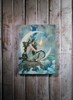 Radiance Light Canvas Mermaid and Moon