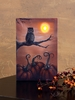 Radiance Lighted Canvas Be Wise Owl Halloween Canvas