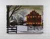 Radiance Lighted Canvas Billy Jacobs Christmas Barn large