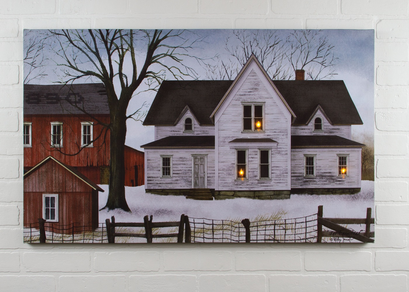 radiance lighted canvas billy jacobs farmstead large 24x40 shelley b