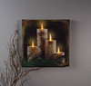 Radiance Lighted Canvas Birch Candles