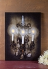 Radiance Lighted Canvas Candelabra