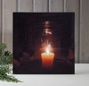 Radiance Lighted Canvas Canning Jar Votive