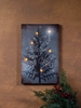 Radiance Lighted Canvas Christmas Begins with Christ Christmas Tree and Star Canvas