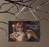 Radiance Lighted Canvas Christmas Blessing Ornament