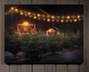 Radiance Lighted Canvas Christmas Tree Lot