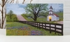 Radiance Lighted Canvas Country Church Springtime Service