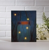 Radiance Lighted Canvas Firefly Jar