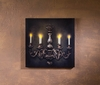 Radiance Lighted Canvas French Chandelier