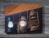 Radiance Lighted Canvas Hanging Lanterns