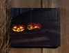 Radiance Lighted Canvas Happy Halloween Jack O Lanterns