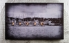 Radiance Lighted Canvas Harbor Scene Large