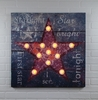 Radiance Lighted Canvas Large Lighted Star