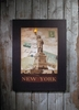 Radiance Lighted Canvas Large New York City Statue of Liberty