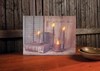 Radiance Lighted Canvas Let your Light Shine Candles