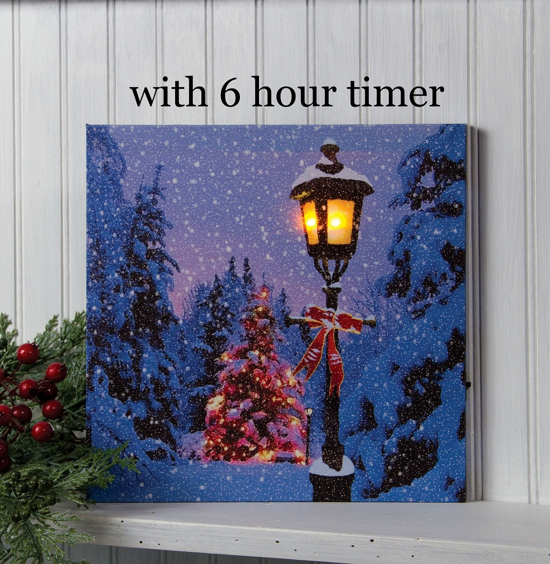 Timer Lighted Christmas Pictures Shelley B Home And Holiday