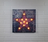Radiance Lighted Canvas Lighted Star