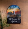 Radiance Lighted Canvas Lighthouse Welcome