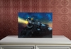 Radiance Lighted Canvas w Timer Locomotive Train Engine
