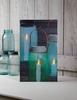 Radiance Lighted Canvas Mason Canning Jars with Candles