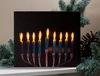 Radiance Lighted Canvas Menorah