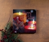 Radiance Lighted Canvas Merry Christmas Candles