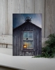 Radiance Lighted Canvas Olde School House with School Bell