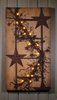 Radiance Lighted Canvas Pip Berry Garland and Stars small