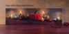 Radiance Lighted Canvas w Timer Pumpkin and Gourd Harvest Display