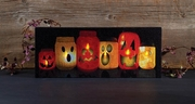 Radiance Lighted Canvas Pumpkin Jars