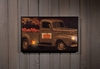 Radiance Lighted Canvas Pumpkin Sale Old Truck