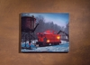 Radiance Lighted Canvas Red Caboose